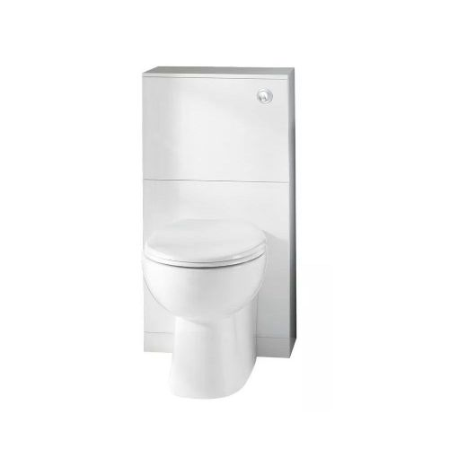 Eastbrook Oslo Floor Standing Tall Wc Unit Top - White